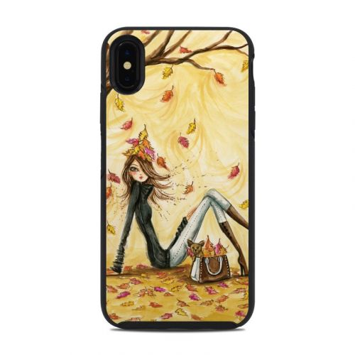 Autumn Leaves OtterBox Symmetry iPhone XS Max Case Skin