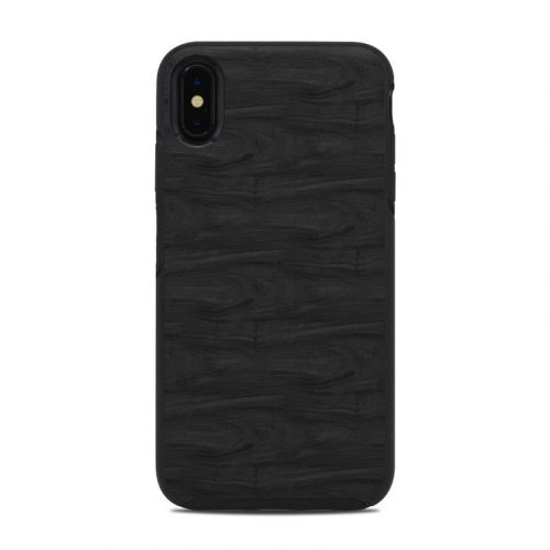 Black Woodgrain OtterBox Symmetry iPhone XS Max Case Skin