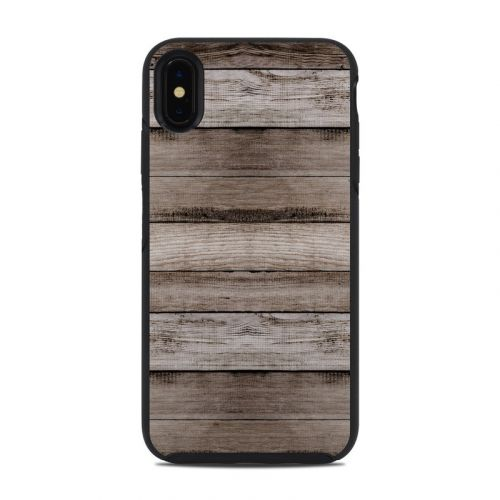 Barn Wood OtterBox Symmetry iPhone XS Max Case Skin
