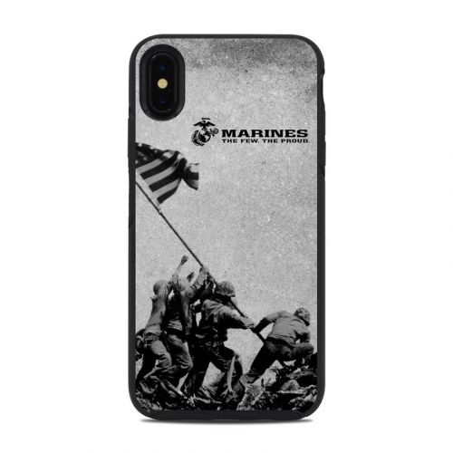 Flag Raise OtterBox Symmetry iPhone XS Max Case Skin