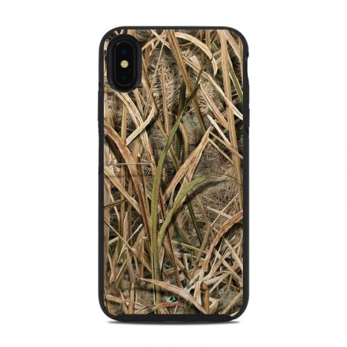 Shadow Grass Blades OtterBox Symmetry iPhone XS Max Case Skin