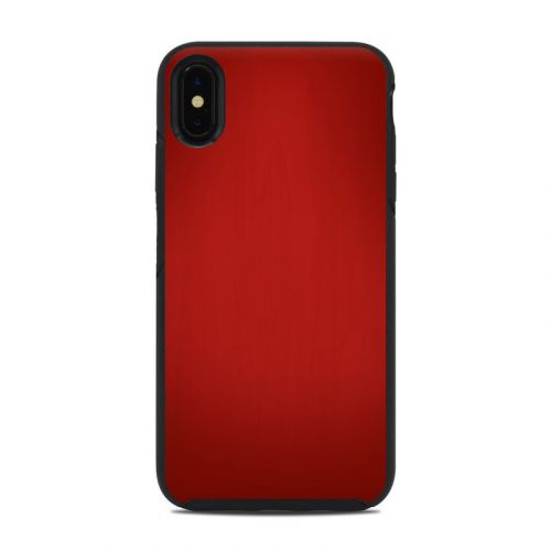 Red Burst OtterBox Symmetry iPhone XS Max Case Skin
