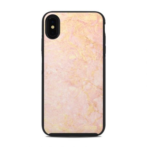 Rose Gold Marble OtterBox Symmetry iPhone XS Max Case Skin