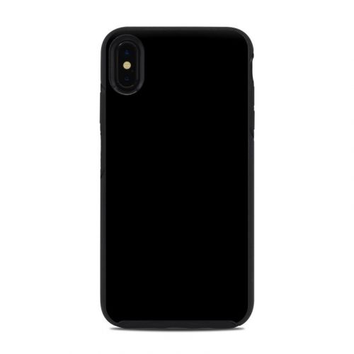 Solid State Black OtterBox Symmetry iPhone XS Max Case Skin