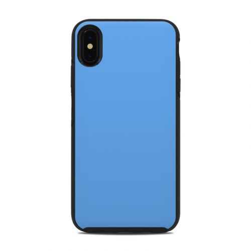 Solid State Blue OtterBox Symmetry iPhone XS Max Case Skin