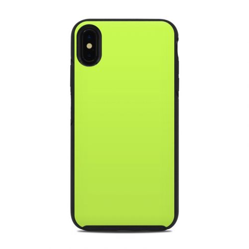 Solid State Lime OtterBox Symmetry iPhone XS Max Case Skin