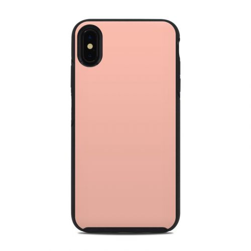 Solid State Peach OtterBox Symmetry iPhone XS Max Case Skin