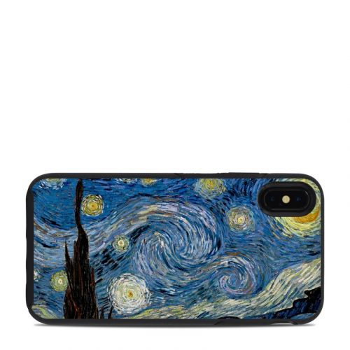 Starry Night OtterBox Symmetry iPhone XS Max Case Skin