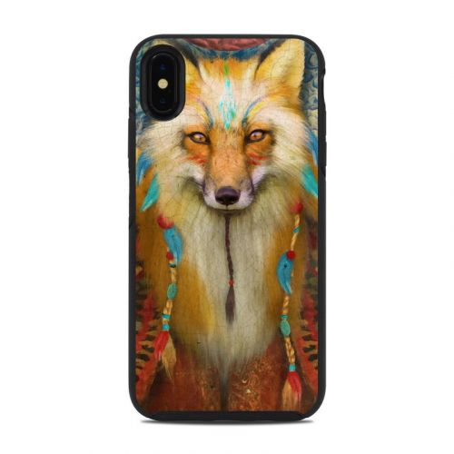 Wise Fox OtterBox Symmetry iPhone XS Max Case Skin