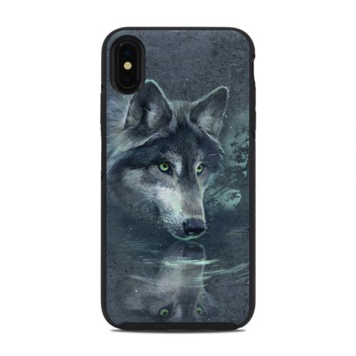 Wolf Reflection OtterBox Symmetry iPhone XS Max Case Skin