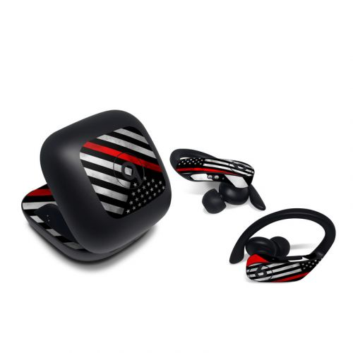 Thin Red Line Hero Beats Powerbeats Pro Skin