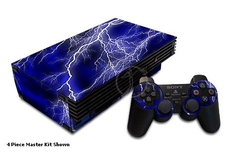 Apocalypse Blue Old PS2 Skin