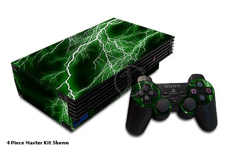 Apocalypse Green Old PS2 Skin