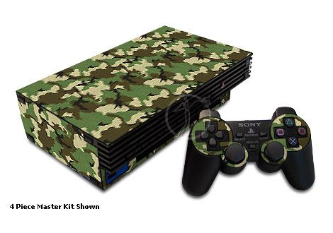 Woodland Camouflage Old PS2 Skin
