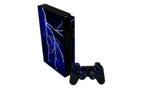 Blue Storm Old PS2 Skin