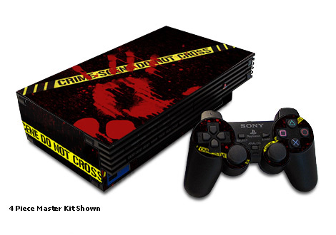 Crime Scene Old PS2 Skin