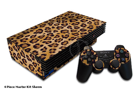 Leopard Spots Old PS2 Skin