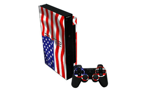 USA Flag Old PS2 Skin