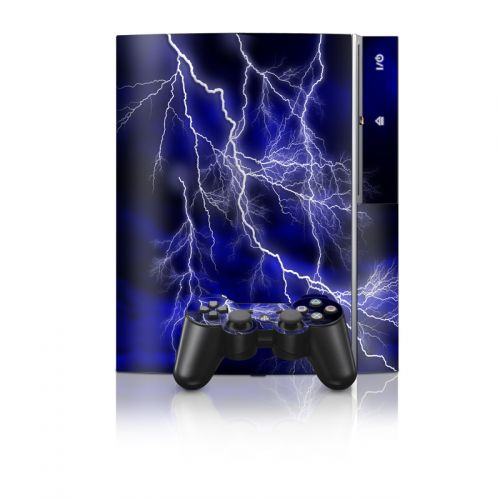 Apocalypse Blue PS3 Skin
