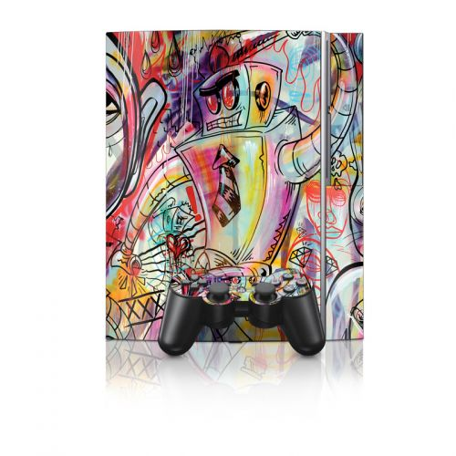 Battery Acid Meltdown PS3 Skin