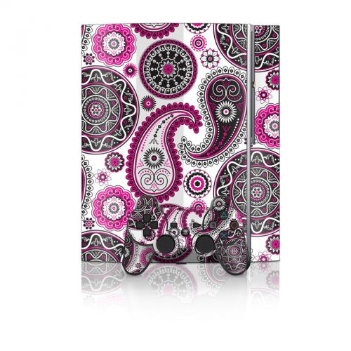 Boho Girl Paisley PS3 Skin