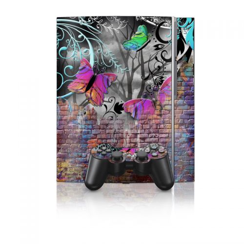 Butterfly Wall PS3 Skin