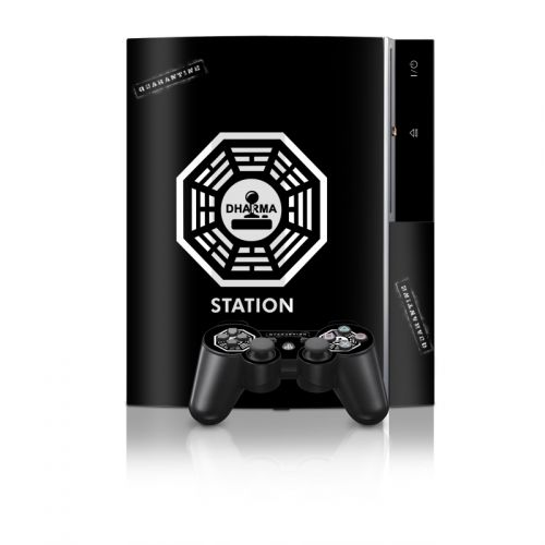 Dharma Black PS3 Skin