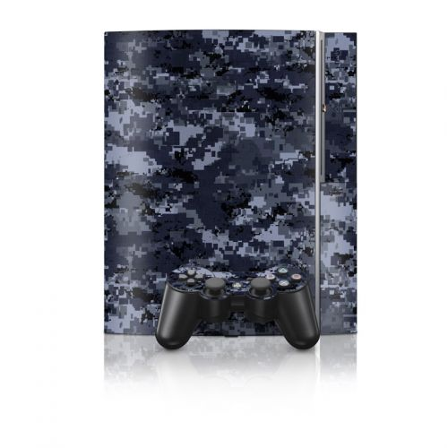 Digital Navy Camo PS3 Skin