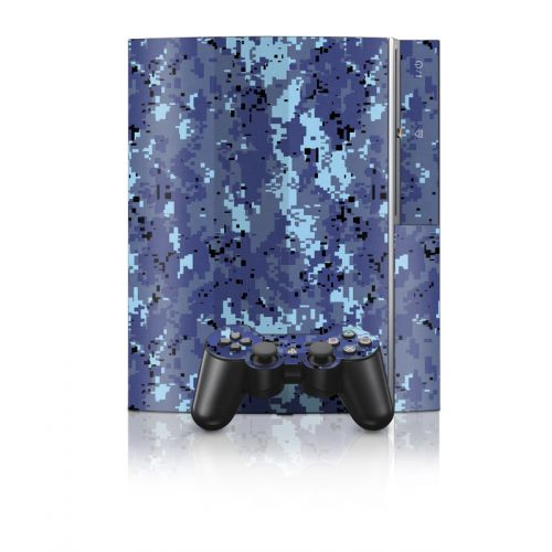 Digital Sky Camo PS3 Skin