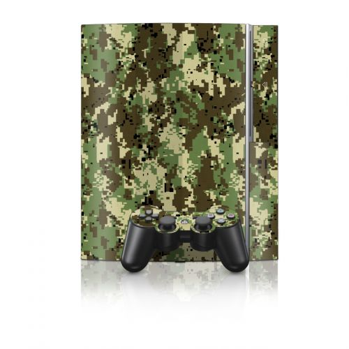 Digital Woodland Camo PS3 Skin