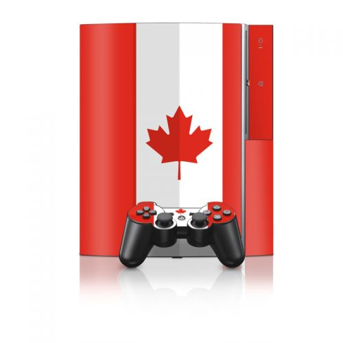 Canadian Flag PS3 Skin