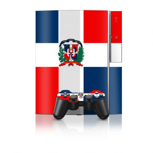 Dominican Republic Flag PS3 Skin