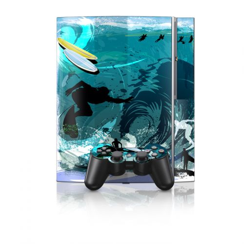 Hit The Waves PS3 Skin