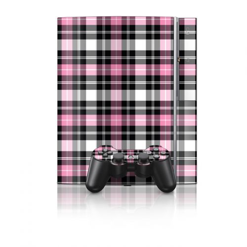 Pink Plaid PS3 Skin
