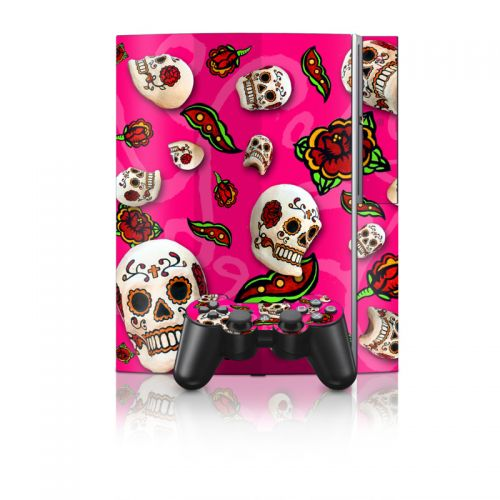 Pink Scatter PS3 Skin