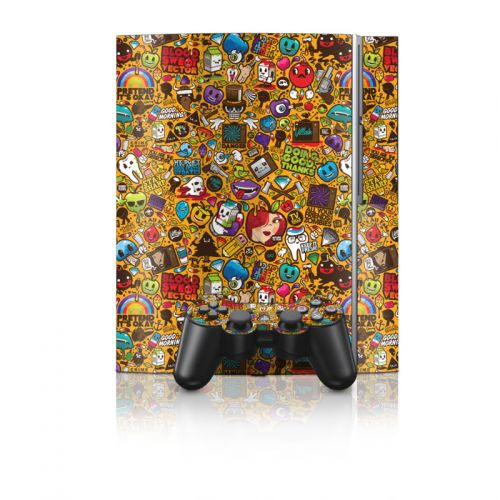 Psychedelic PS3 Skin