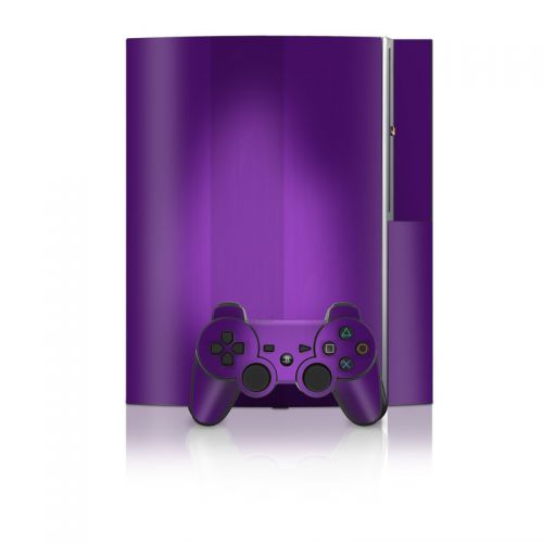 Purple Burst PS3 Skin