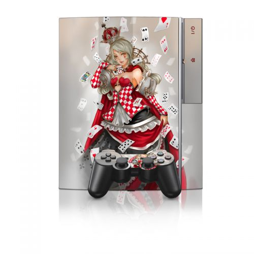 Queen Of Cards PS3 Skin