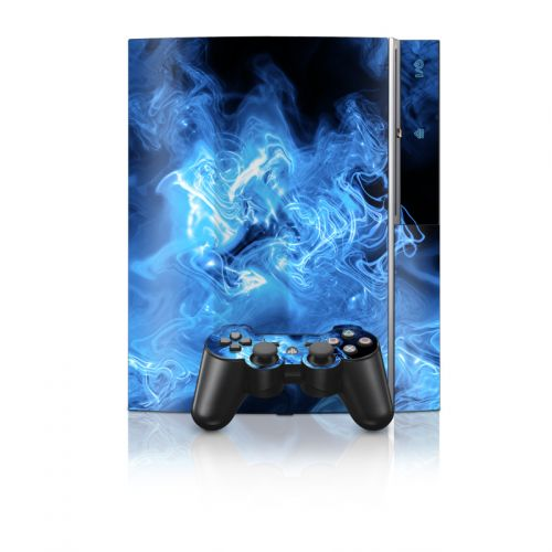 Blue Quantum Waves PS3 Skin
