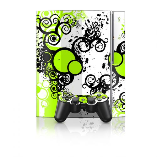 Simply Green PS3 Skin