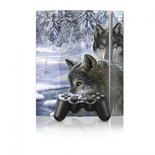 Snow Wolves PS3 Skin