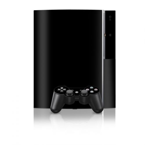 Solid State Black PS3 Skin