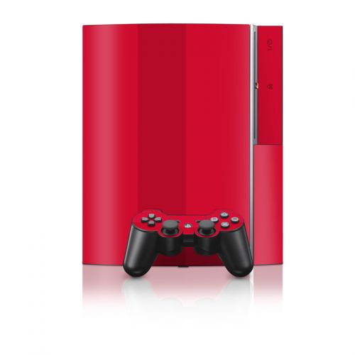 Solid State Red PS3 Skin
