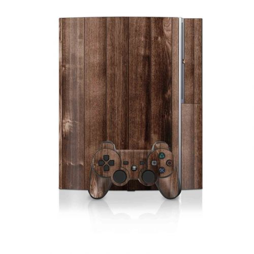 Stained Wood PS3 Skin