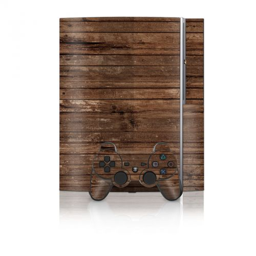 Stripped Wood PS3 Skin