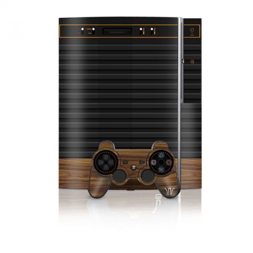 Wooden Gaming System PS3 Skin