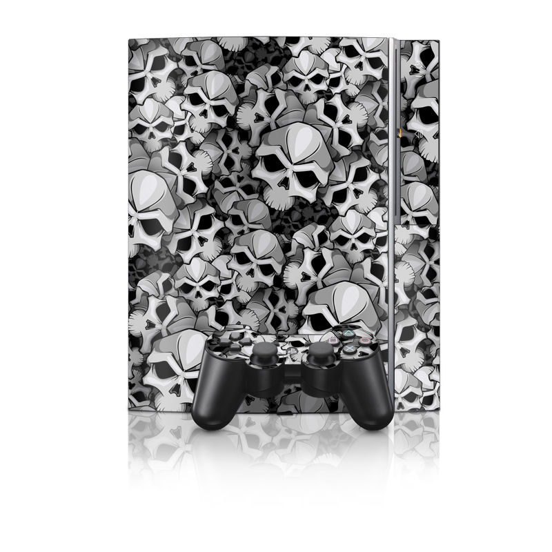 Old PS3 Skin design of Pattern, Black-and-white, Monochrome, Ball, Football, Monochrome photography, Design, Font, Stock photography, Photography with gray, black colors