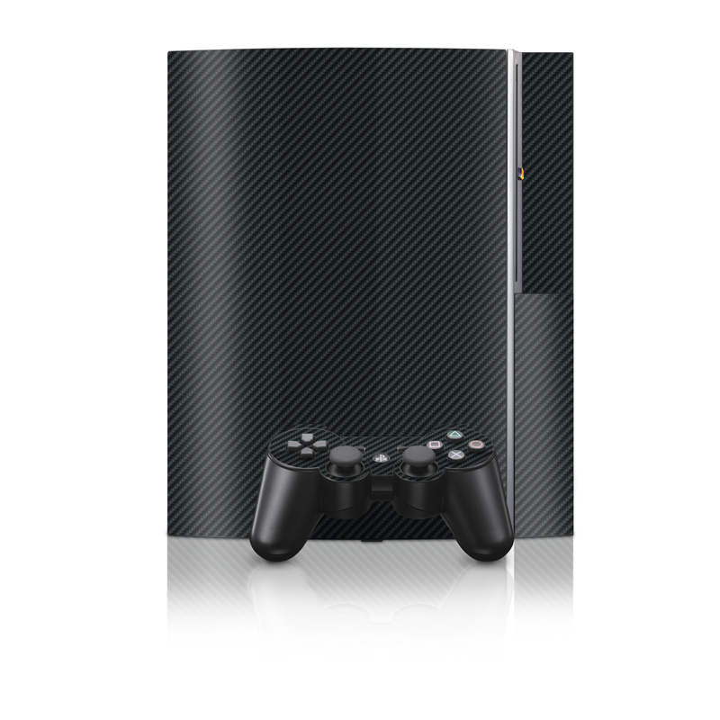 Carbon Fiber PS3 Skin