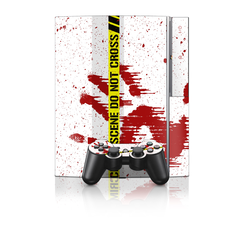 Crime Scene Revisited PS3 Skin