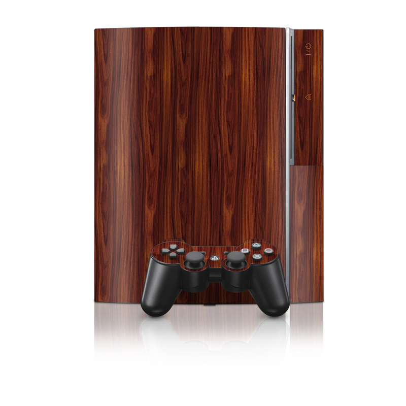 Dark Rosewood PS3 Skin